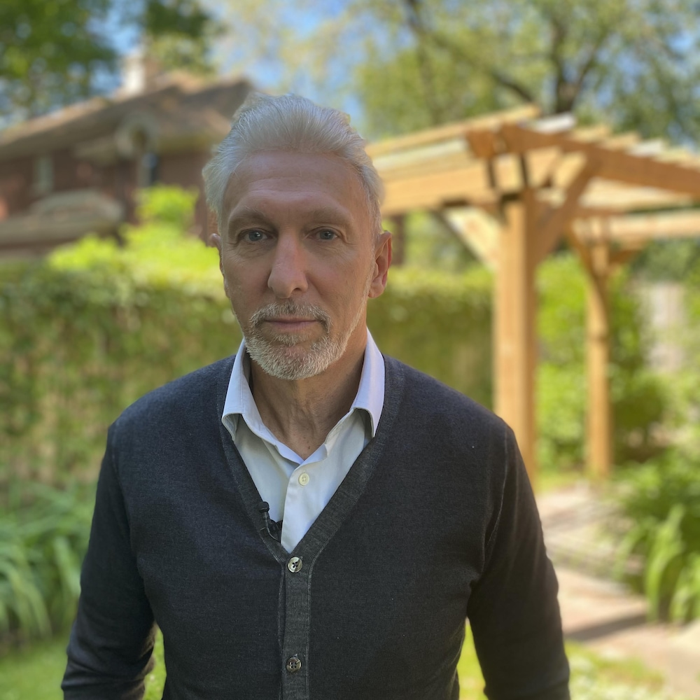 Portrait du Dr Michel Martel.