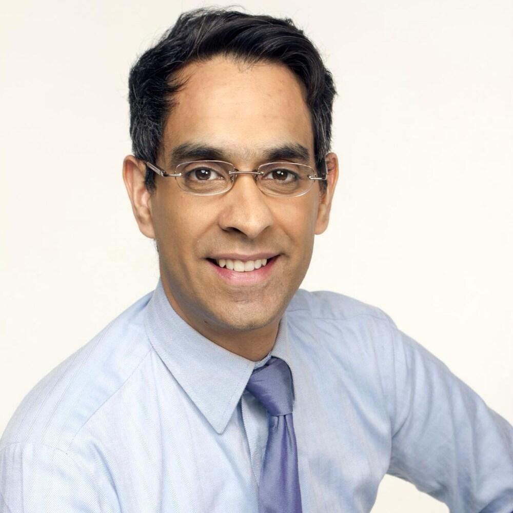 Portrait du Dr Kapoor.