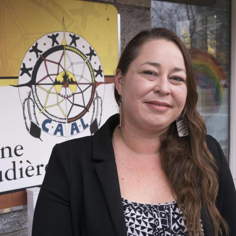 La directrice générale du Centre d'amitié autochtone de Lanaudière à Joliette, Jennifer Brazeau.
