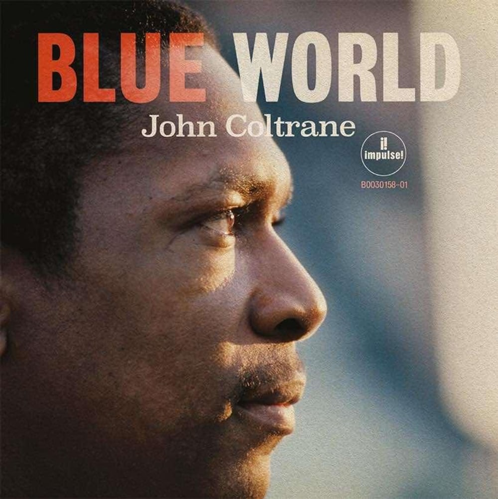 Pochette de l'album, où l'on voit John Coltrane de profil.