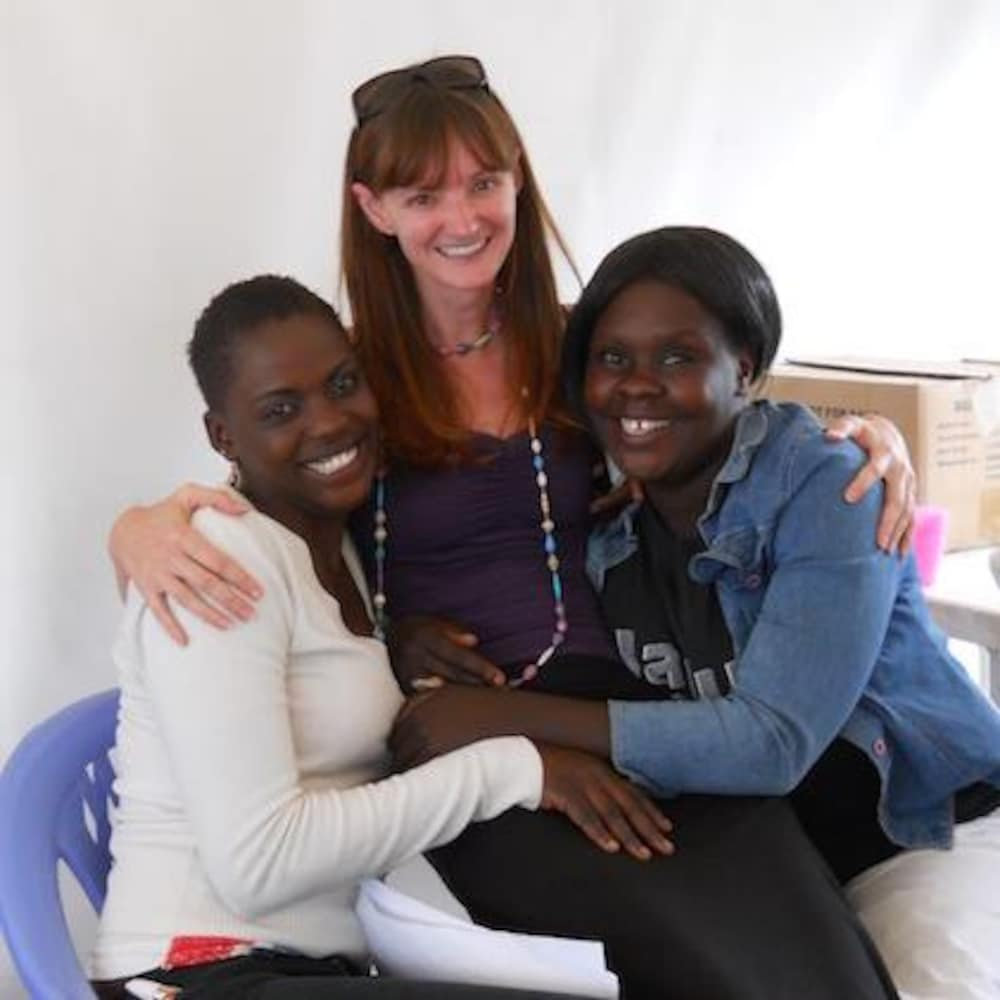 Kényanes et docteure Julie Lajoie