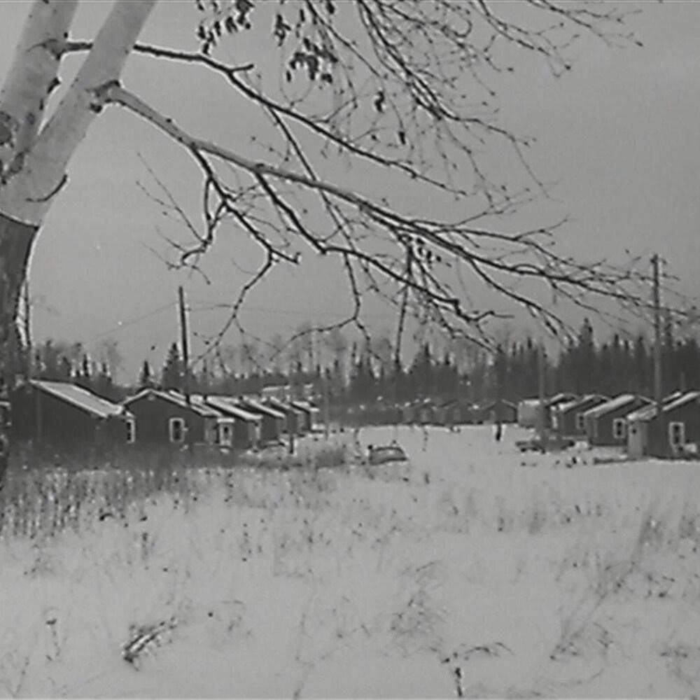 La communauté anichinabée de Lac Simon en Abitibi-Témicamingue, dans les années 1970.