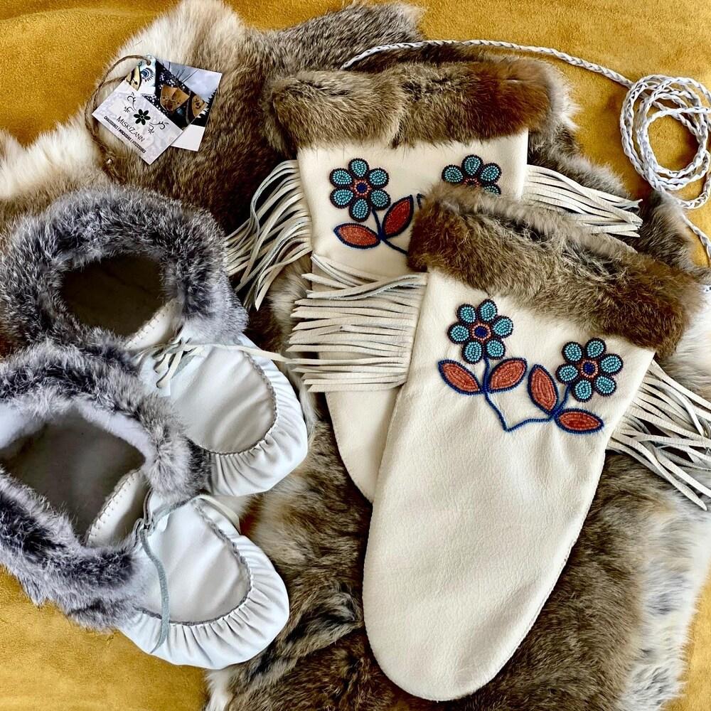 Tous les produits de MiskiZann sont faits à la main par Lisanne et sa belle-soeur.