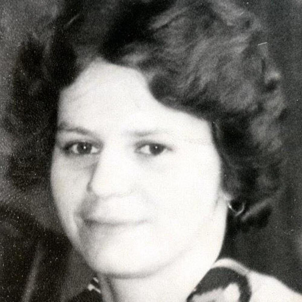 Photographie noire et blanc de Micheline St-Amour au début des années 80.