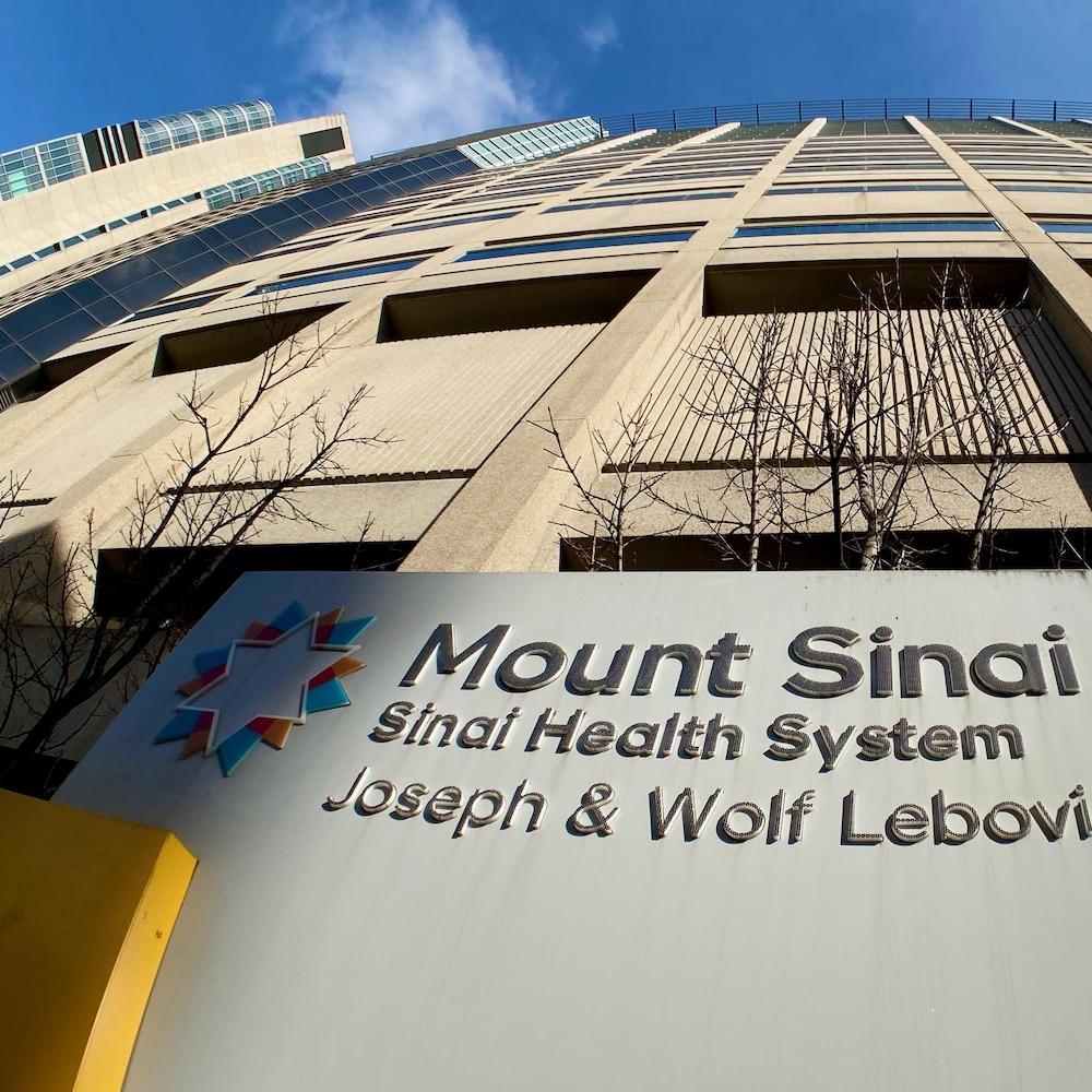 L'hôpital Mount Sinai dans le centre-ville de Toronto.