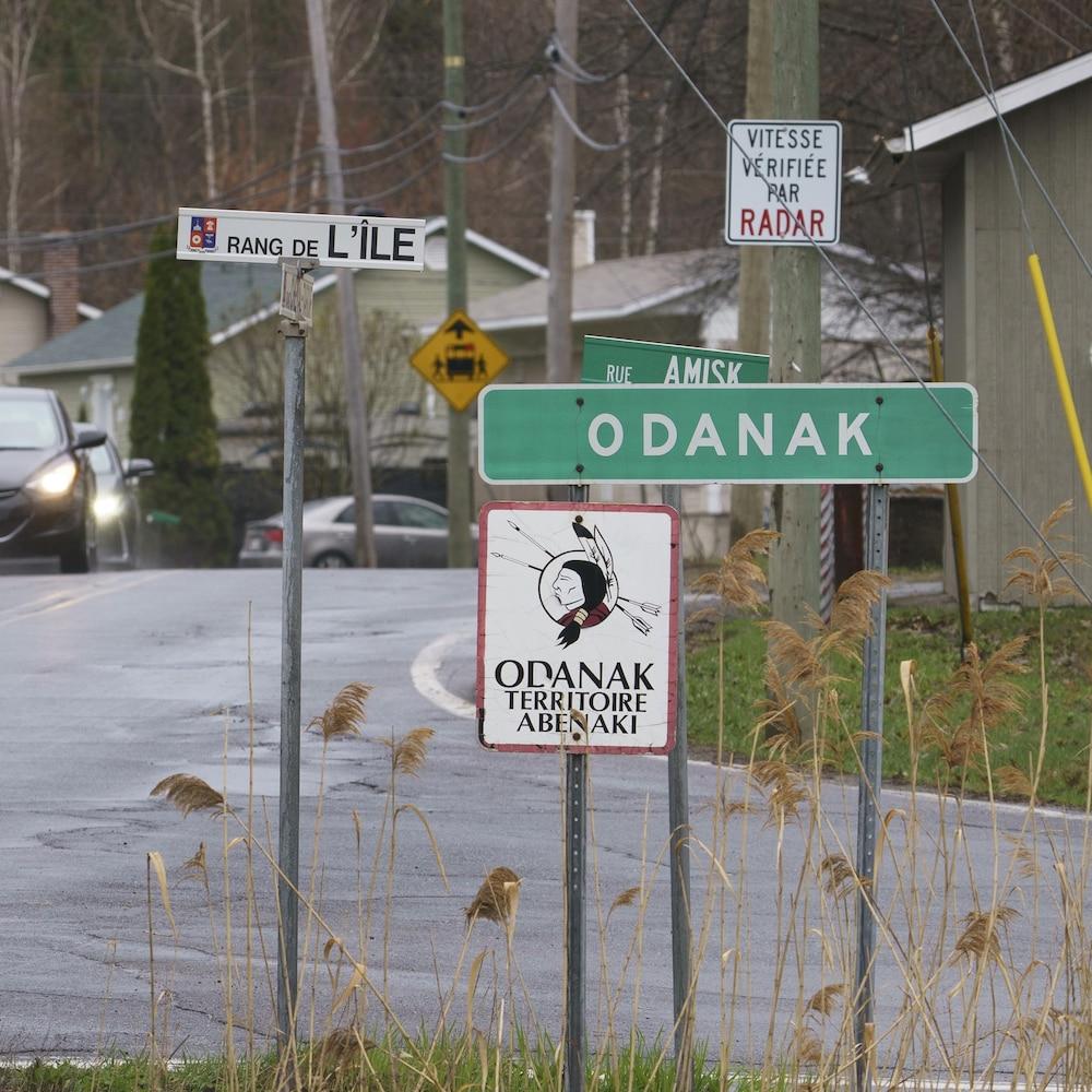 La communauté abénaquise d'Odanak est située à 32 km à l'est de Sorel.