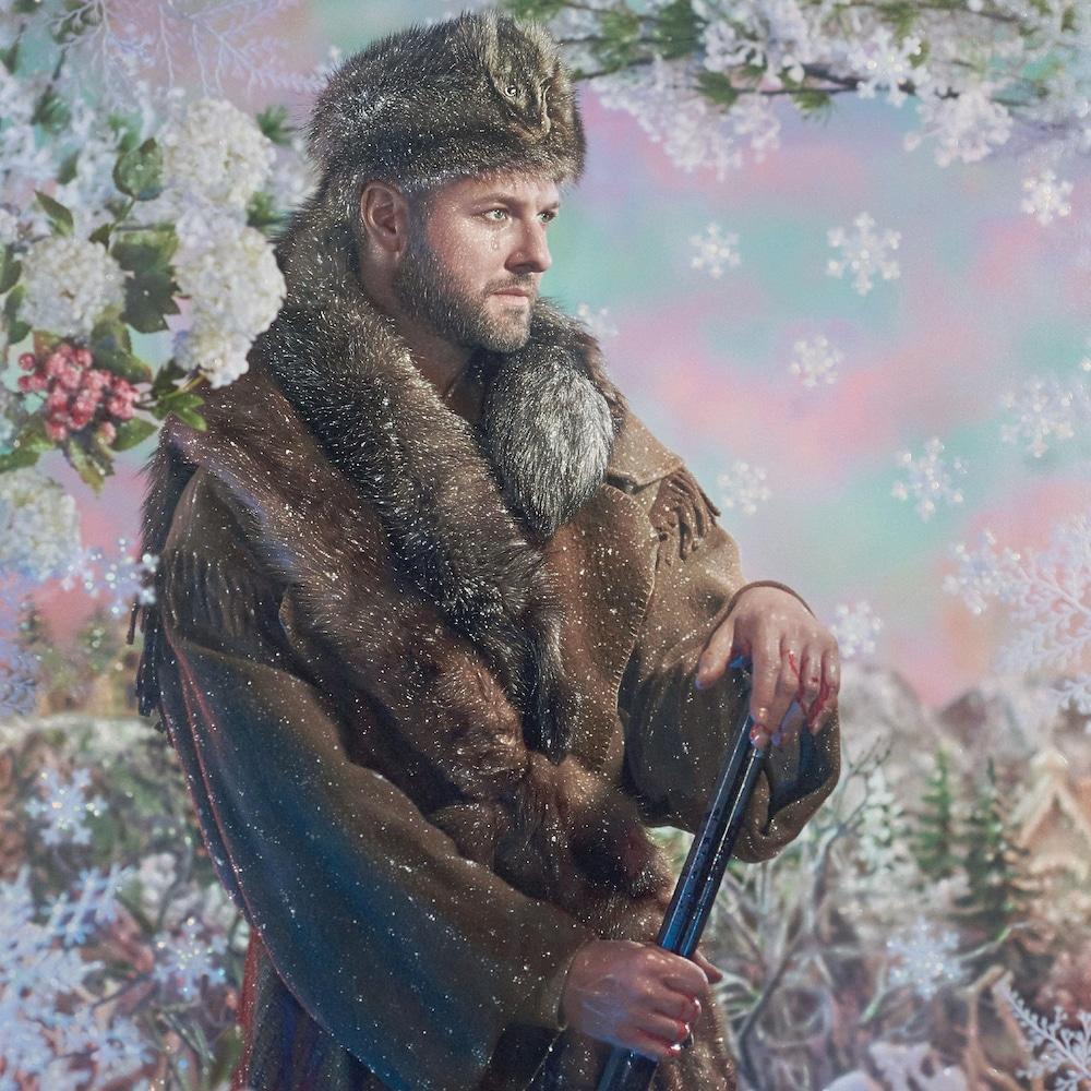 Pochette de l'album «Chansons hivernales» de Pierre Lapointe