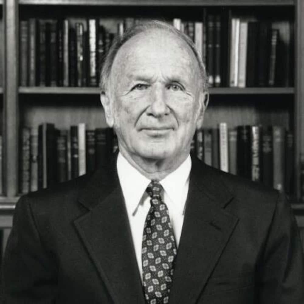 Portrait d'Ed Lorenz.