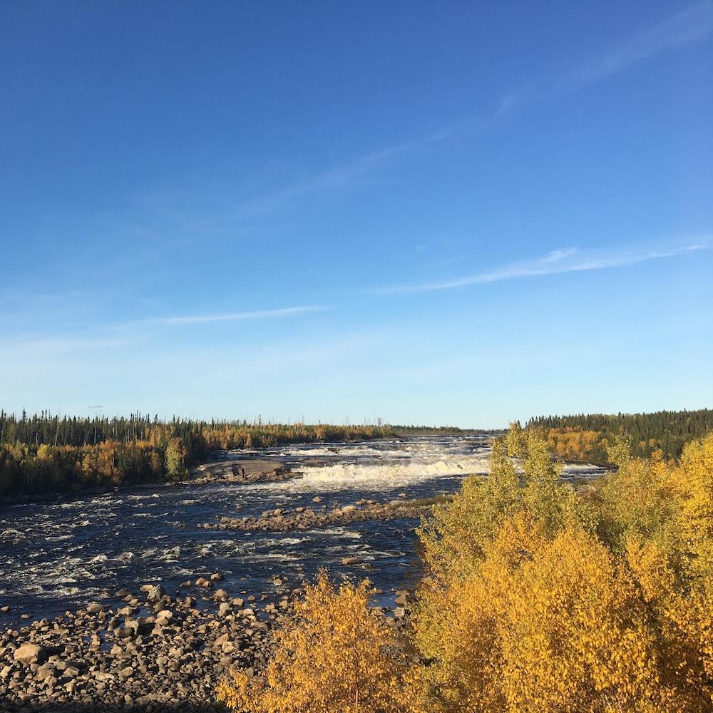 La rivière Rupert.