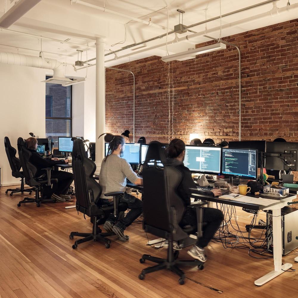 Les bureaux de Sabotage Studio.