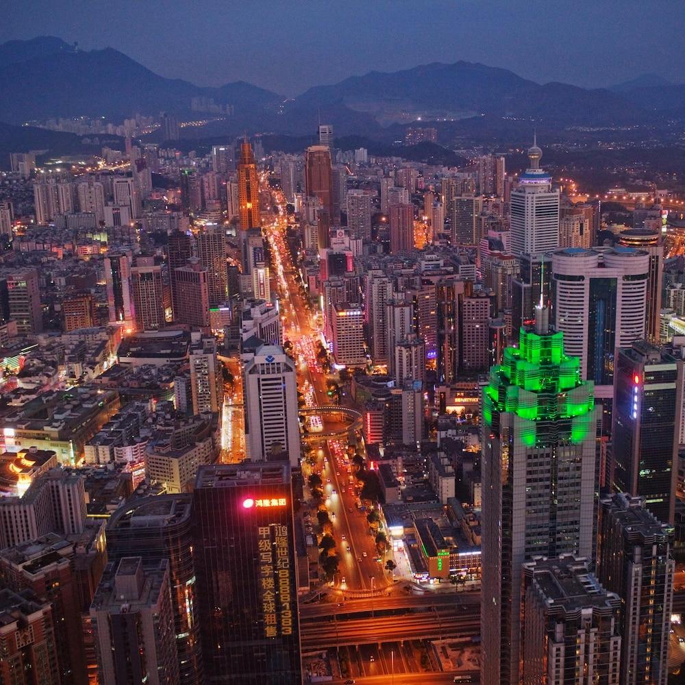 La ville de Shenzhen.