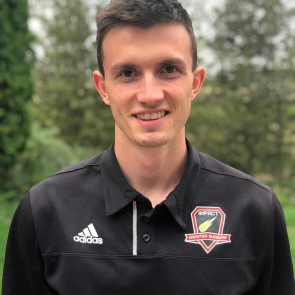 Connor Vande Weghe, le président du Greater Sudbury Soccer Club.
