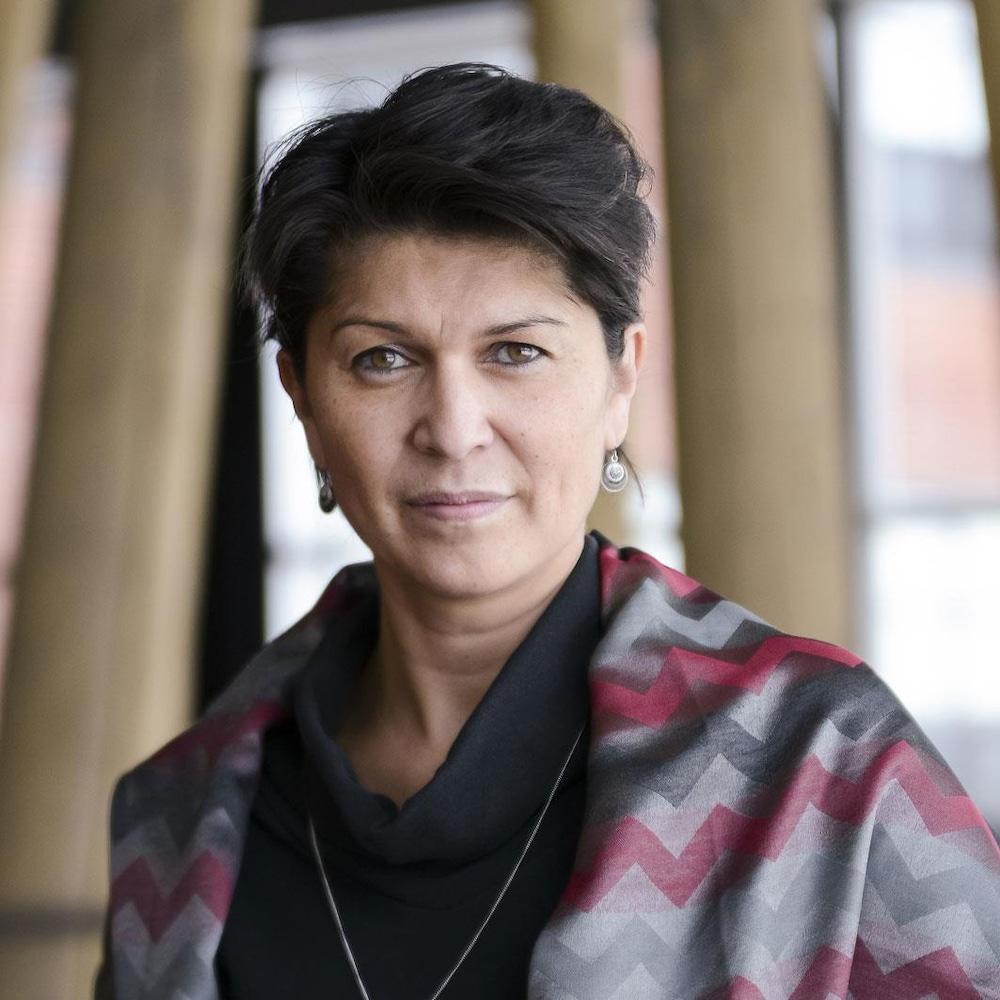 La professeure de l'École d'études autochtones de l'Université du Québec en Abitibi-Témiscamingue (UQAT) Suzy Basile.
