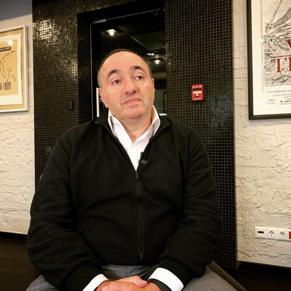 Le cinéaste russo-ukrainien Alexander Rodnyansky
