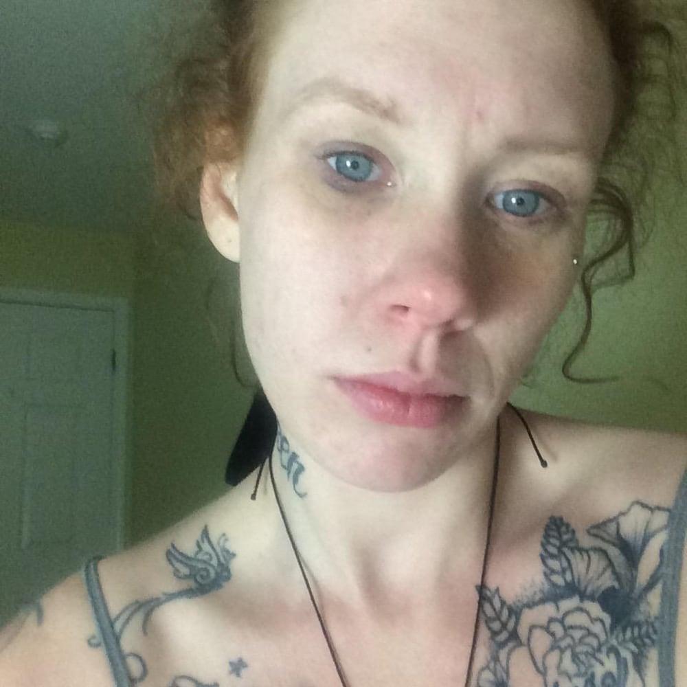 Un selfie de Mallory Fewster.