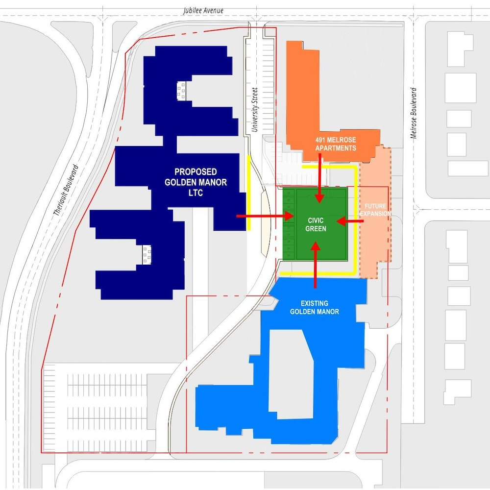 Les plans du Golden Manor 2.0.