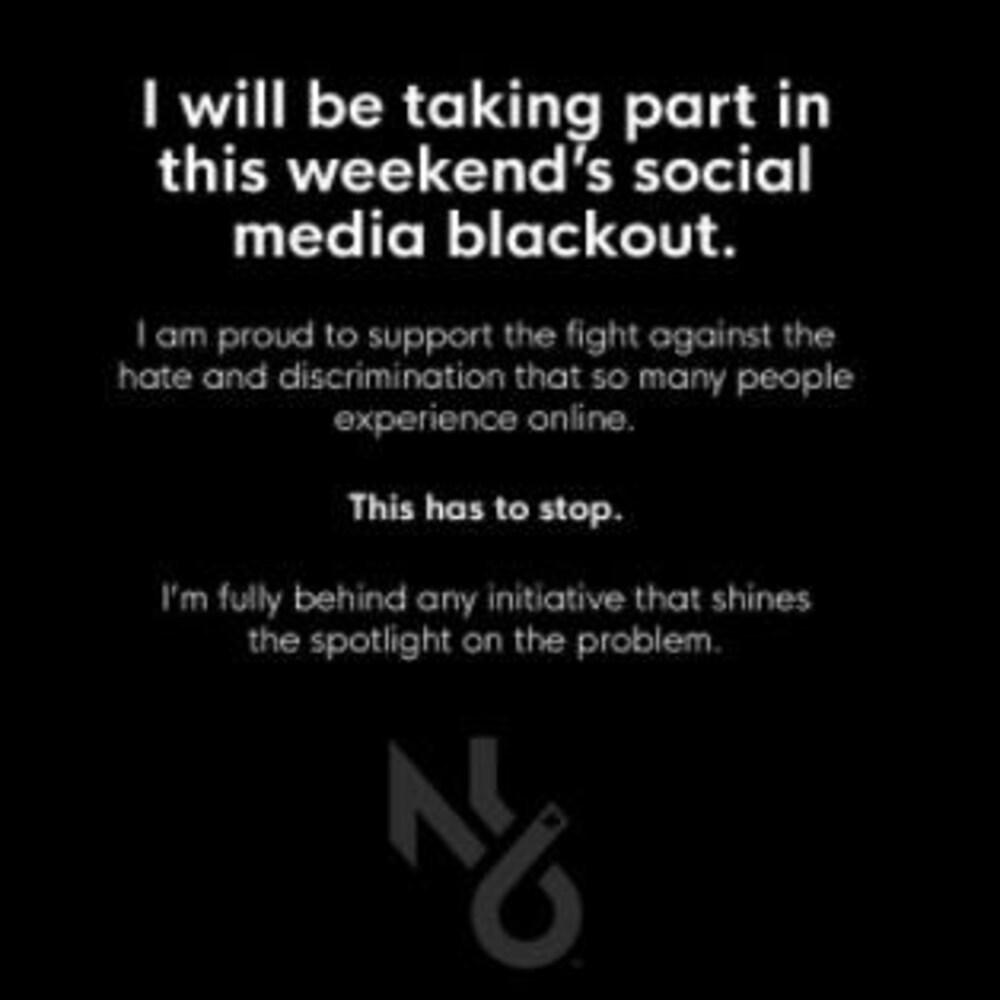 Nicholas Latifi explique qu'il participe au mouvement mondial de silence sur les médias sociaux ce week-end pour protester contre la cyber intimidation (en anglais)