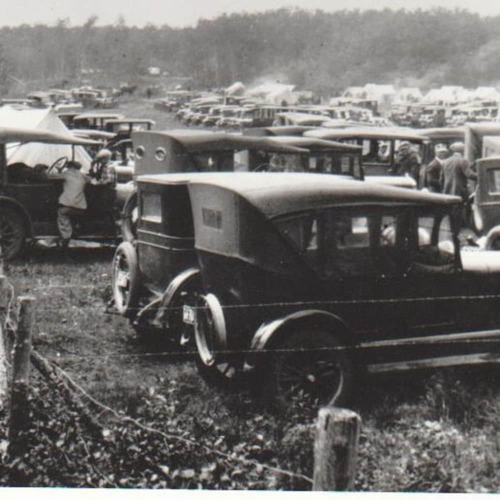 Le pèlerinage à Saint-Laurent vers 1925