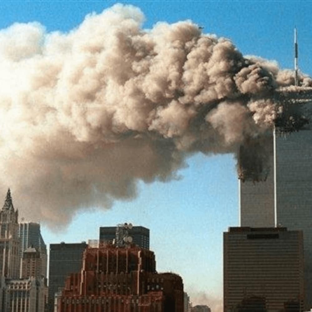 Les tours jumelles du World Trade Center ont été frappées par deux avions le 11 septembre 2001.