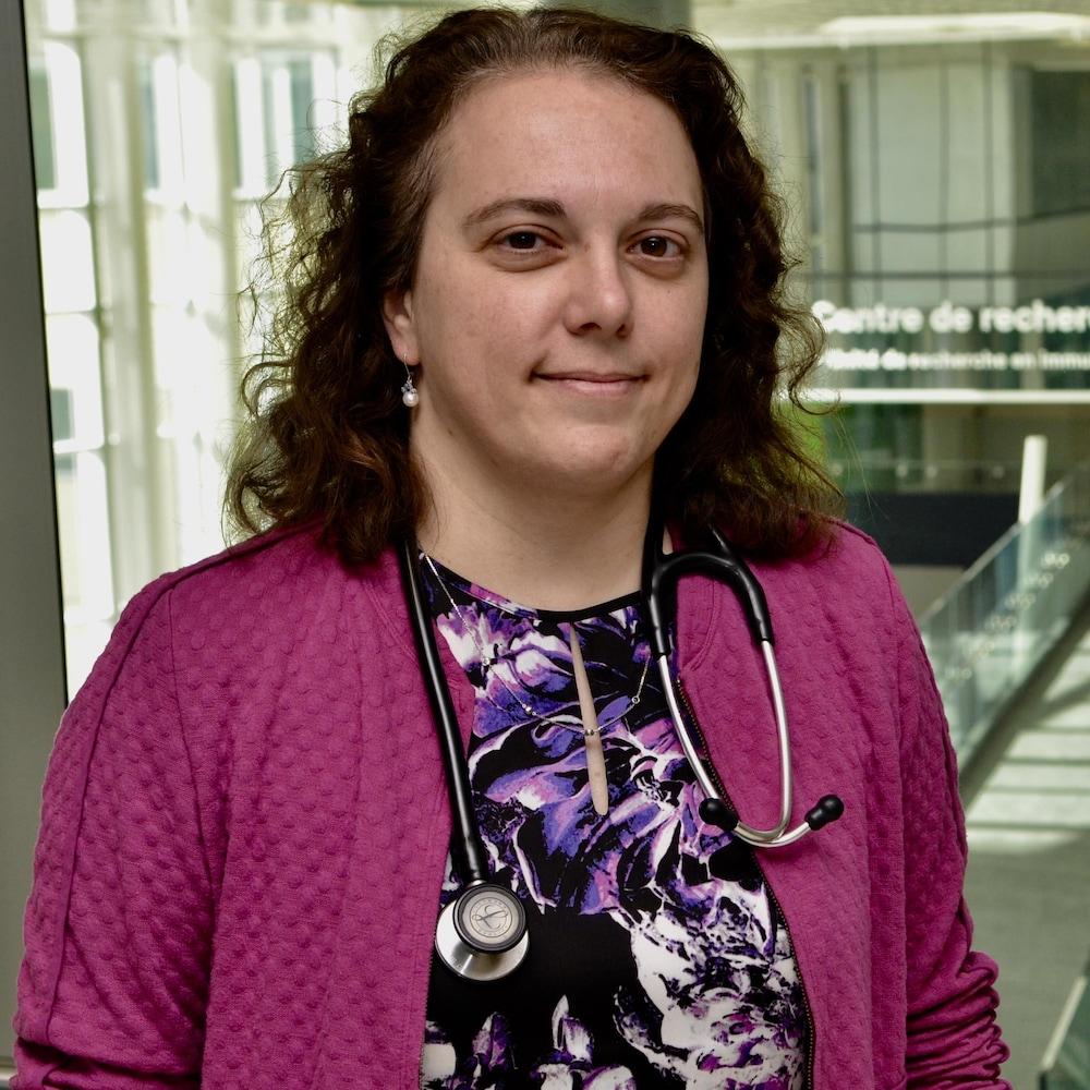 La Dre Anne-Marie-Laberge, chef du service de génétique médicale au CHU Sainte-Justine, à Montréal.