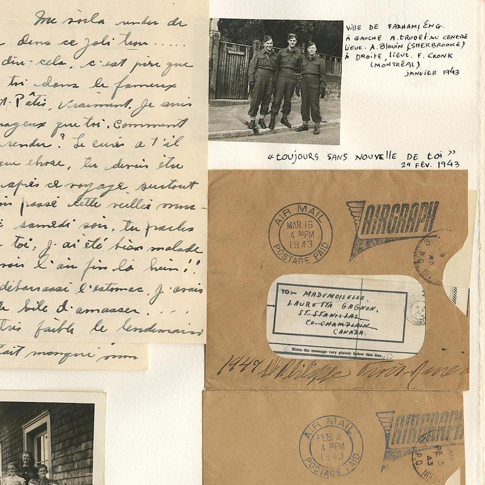 Correspondance Amoureuse Durant La Deuxième Guerre Mondiale