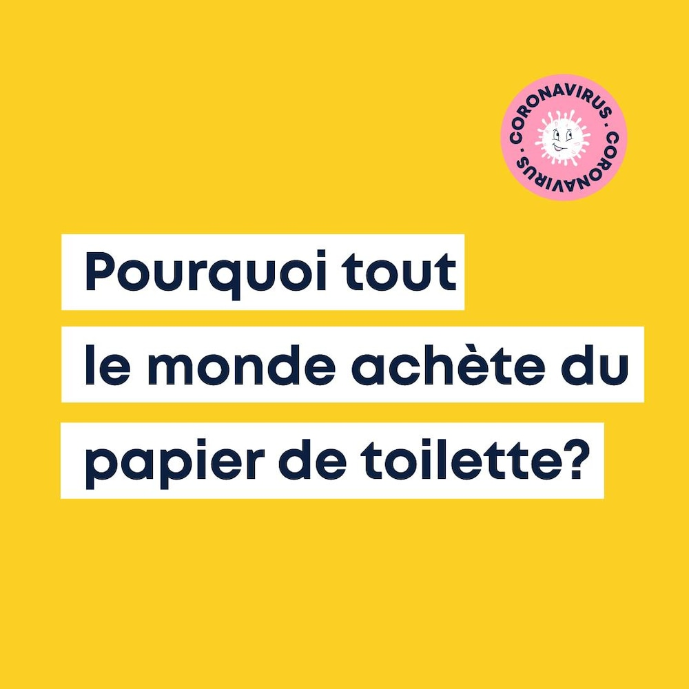 Miniature de la vidéo. Karl-Antoine regarde la caméra en tenant un rouleau de papier de toilette dans la main.