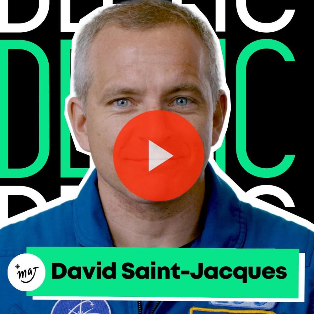 Miniature de la vidéo. Déclic sur David Saint-Jacques.