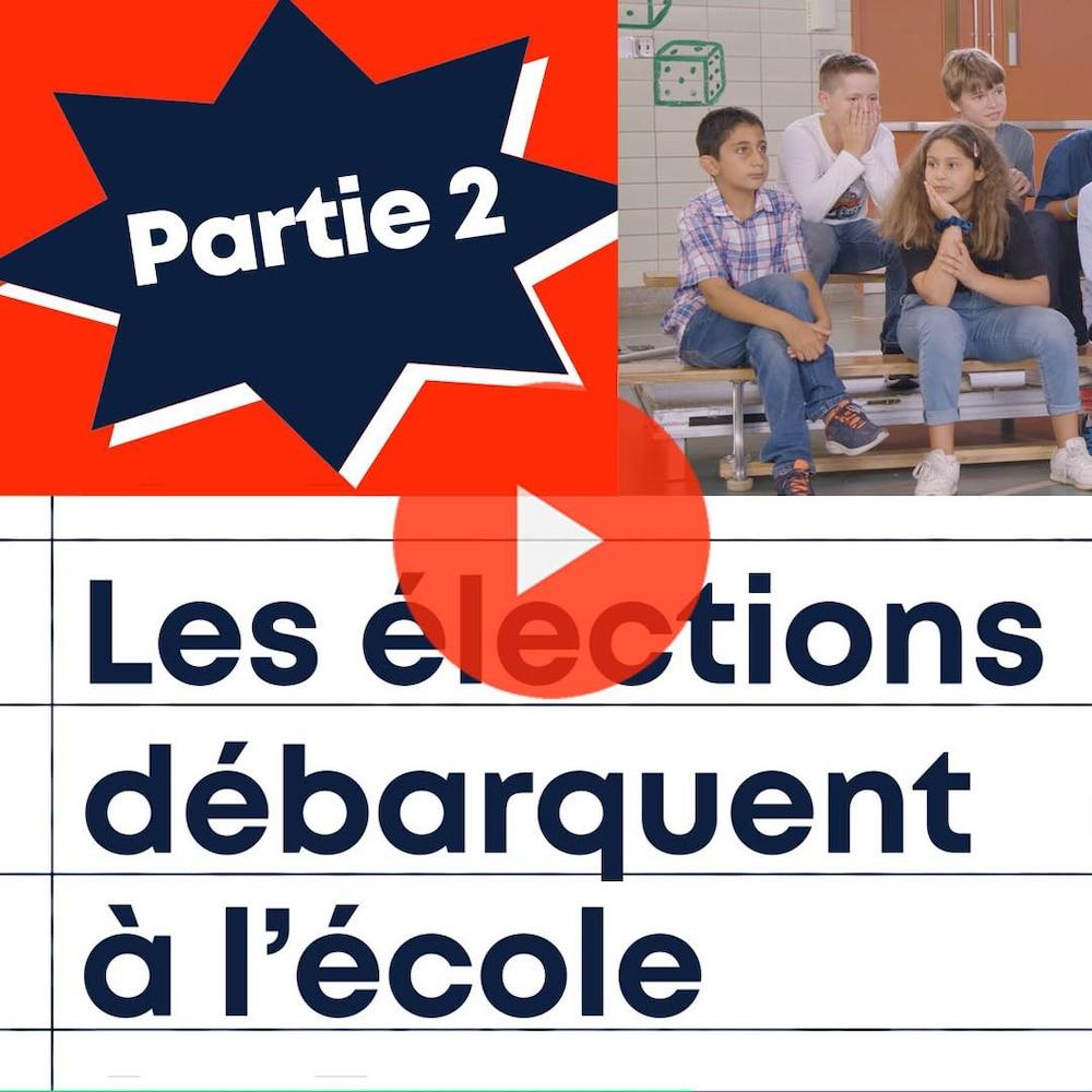 Les élections débarquent à l'école. Partie 2.