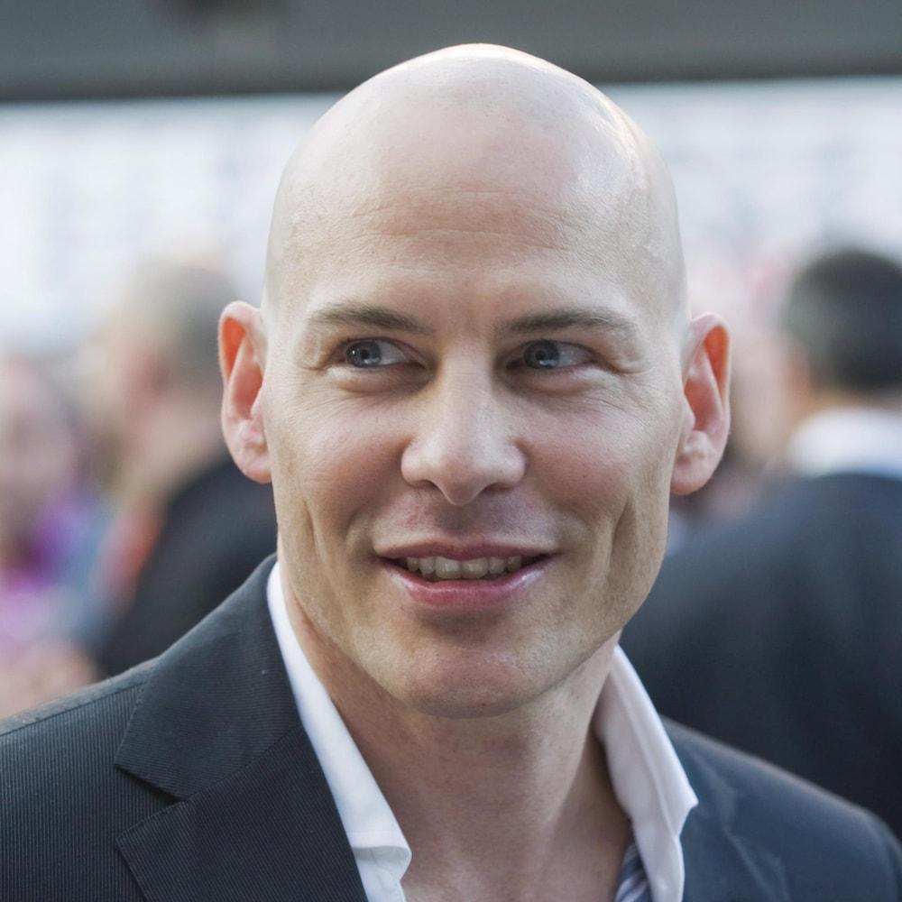 Portrait de Jacques Villeneuve.