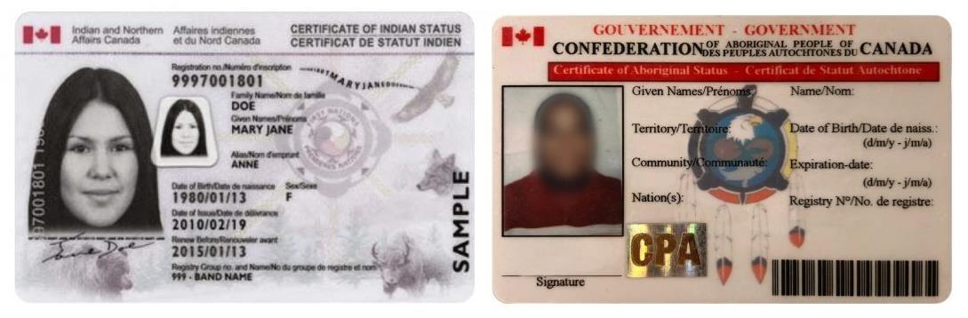 Carte Indien Canada Avantage.De L Adn Canin Aide A Reveler Une Possible Fraude Du Statut