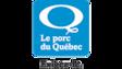 Le logo bleu et blanc du porc du Québec.