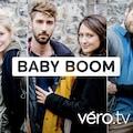 Ariane Castellanos, David Giguère, Marie Bernier, Marie-Laurence Moreau, Robert Montcalm et Zoé Tremblay qui forment les trois couples de la série Baby Boom