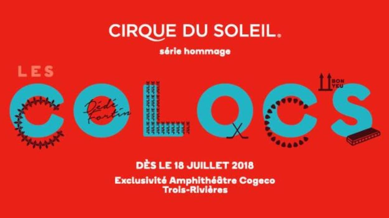 Le Cirque du Soleil: un spectacle en hommage aux Colocs!