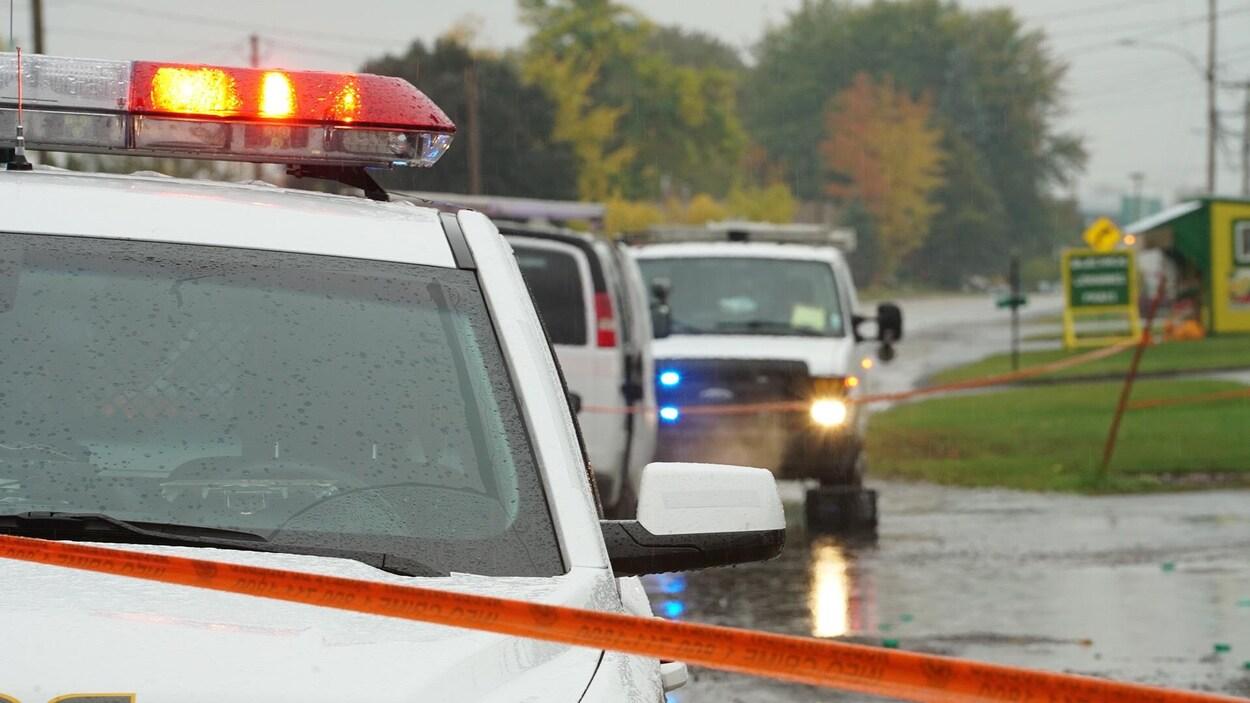 L'auteur présumé d'un délit de fuite survenu lundi à Neuville a été arrêté mercredi à Québec.