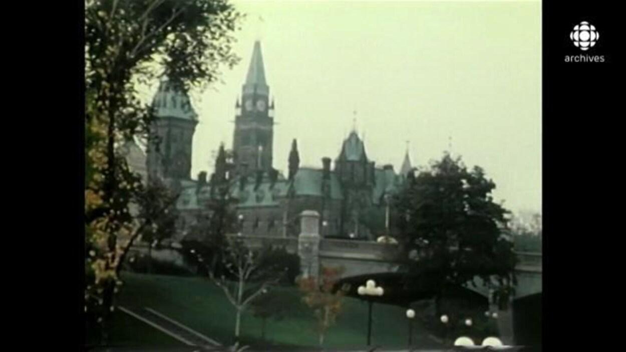 Le Parlement du Canada à Ottawa.
