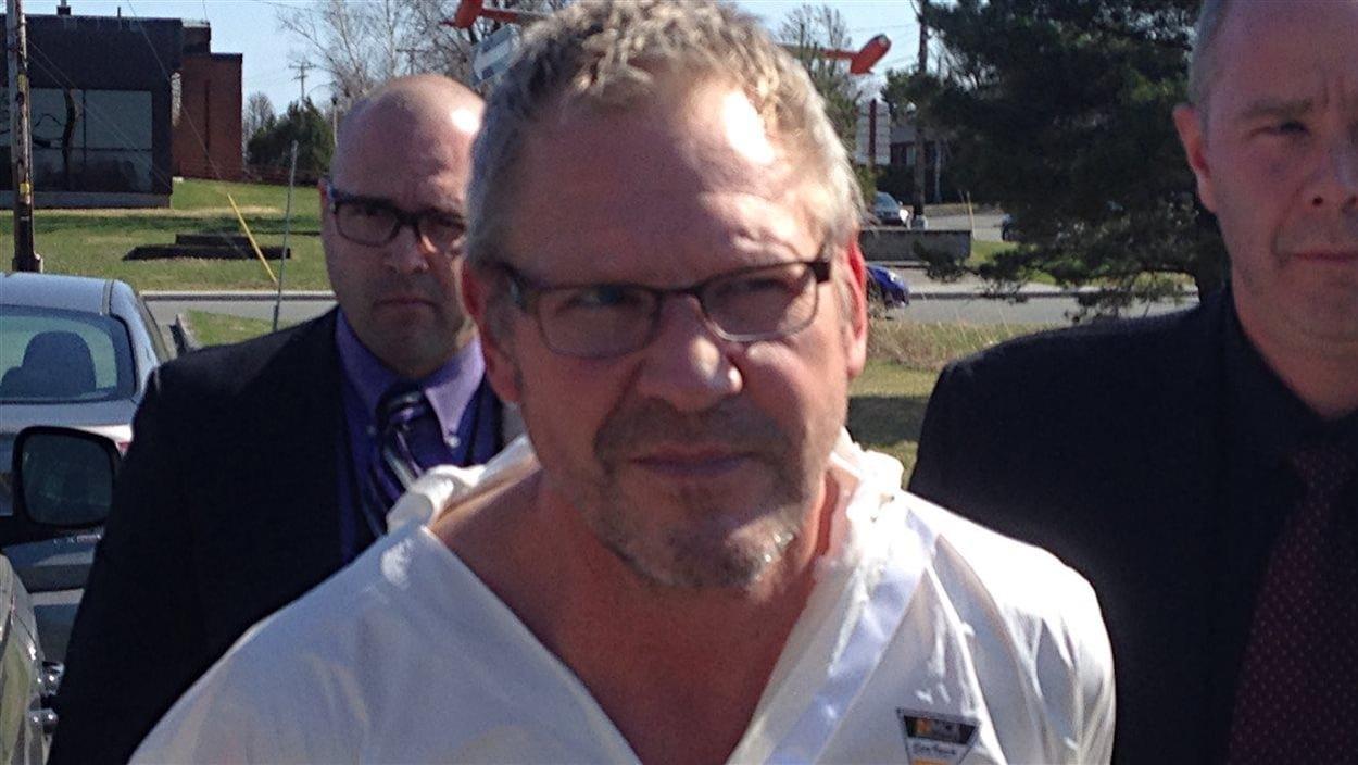 Lévis Landry, 55 ans de Val-d'Or, accusé de meurtre au deuxième degré