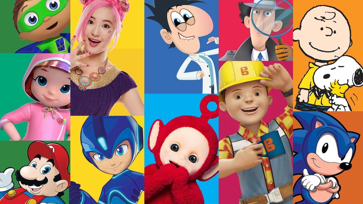 Plusieurs émissions populaires sont produites par l'entreprise, dont Inspecteur Gadget, Caillou, Teletubbies, l'Ours Paddington, Doodlebops et Degrassi, pour ne nommer que ceux-là.