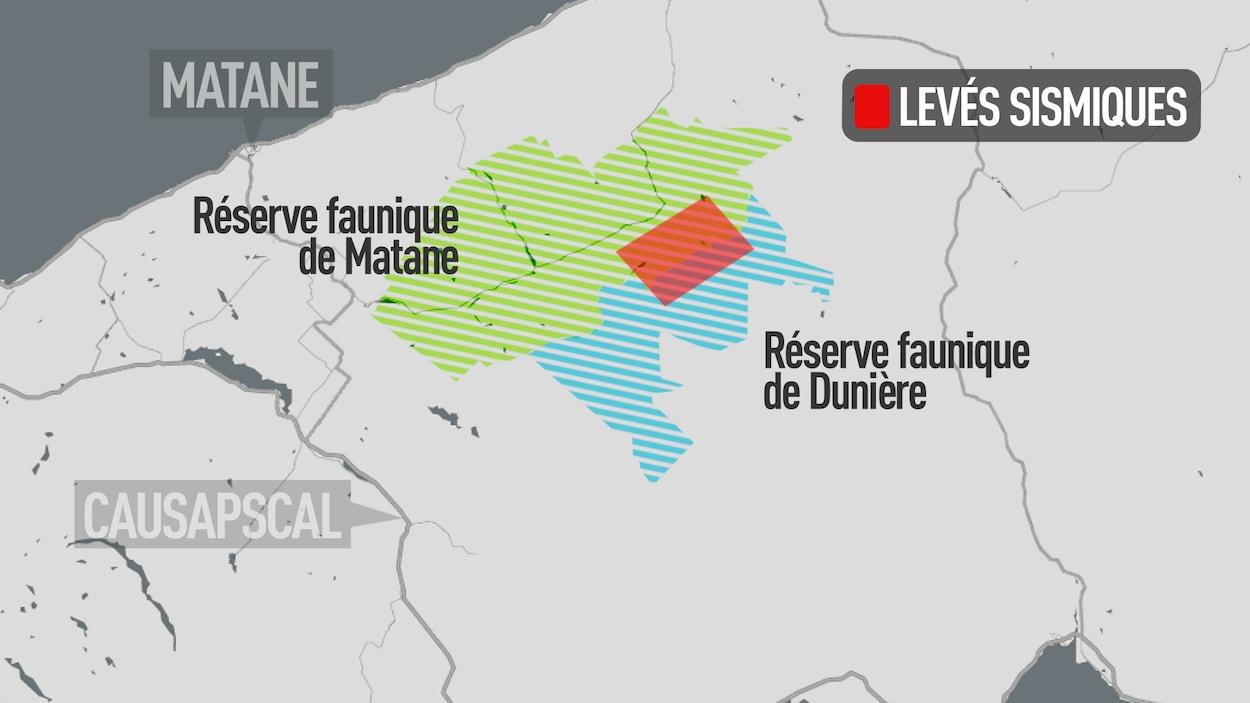 Pétrolia lorgne les réserves Matane et Dunière.