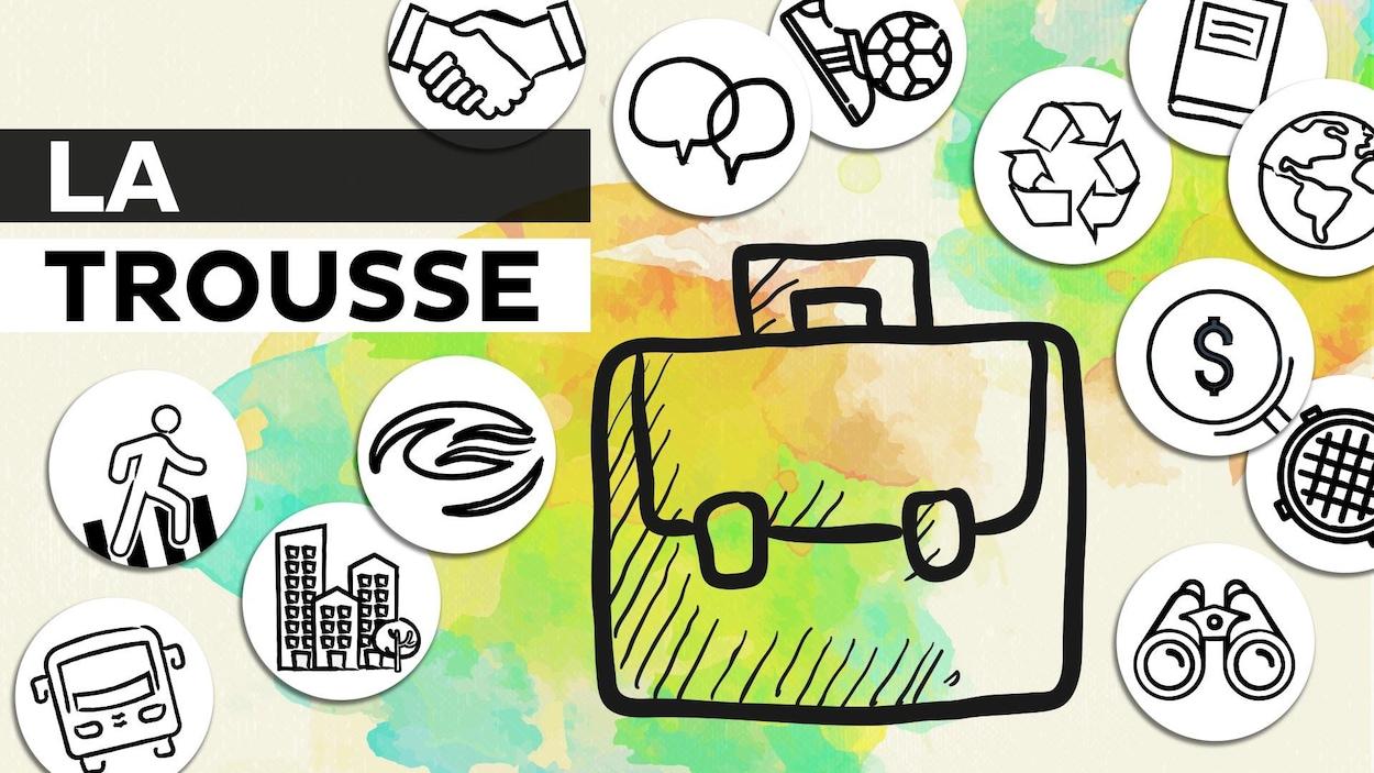 Illustration d'une valise.