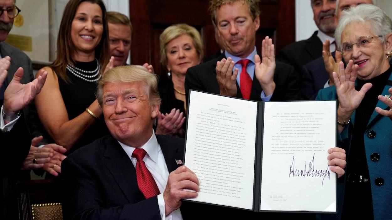 Contournant le Congrès, Trump détricote lui-même