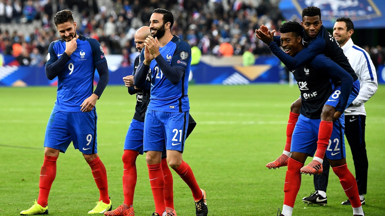 La France s'est qualifiée pour le Mondial 2018