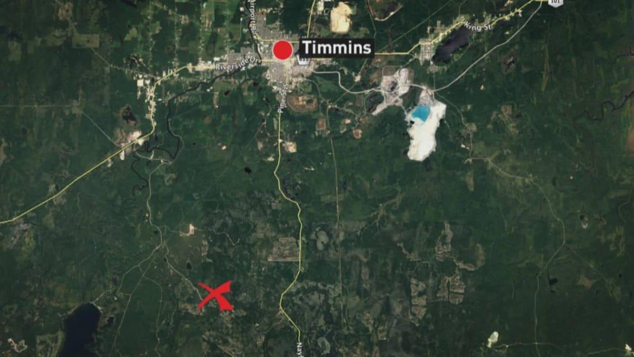 Une image de Google Earth