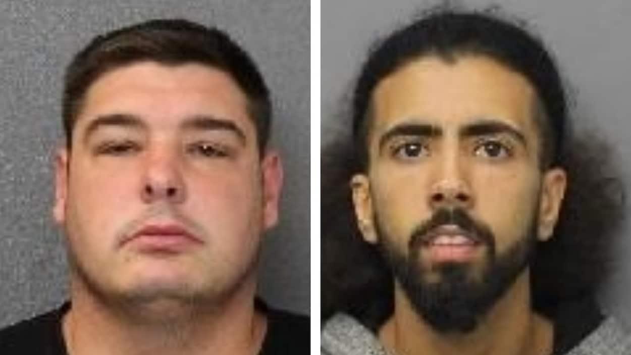 Deux hommes recherchés par la police de Gatineau.