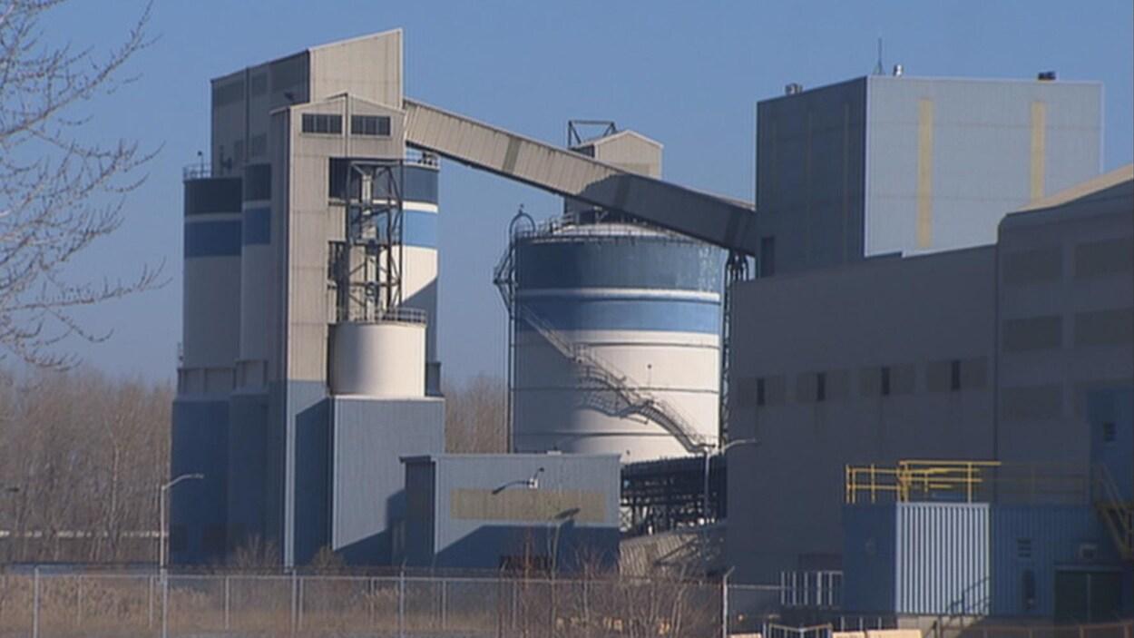 Extérieur de l'usine d'ABI.
