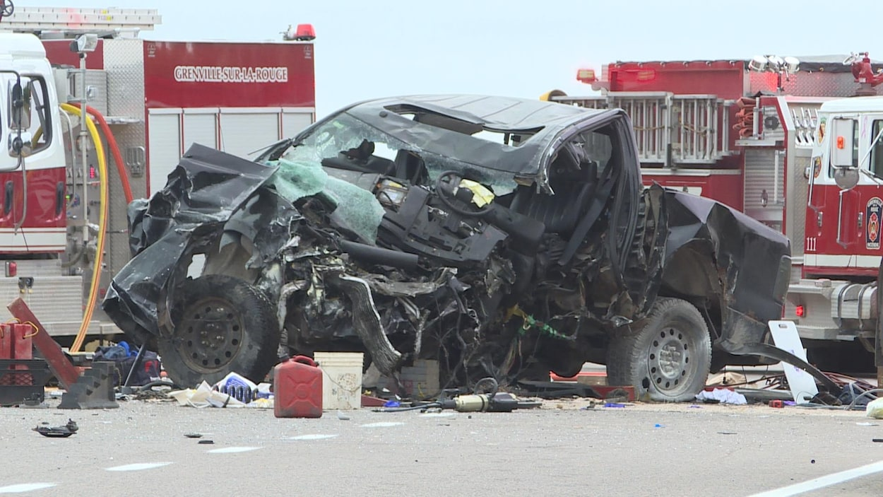 Violente collision frontale en Outaouais