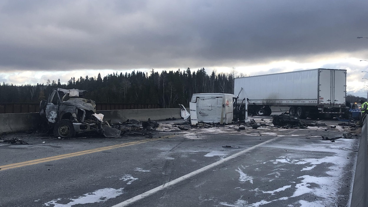 Un accident de la circulation.