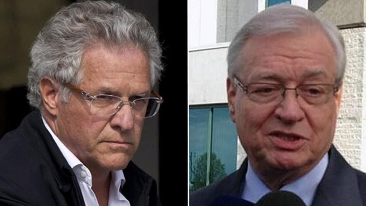 Tony Accurso et Gilles Vaillancourt