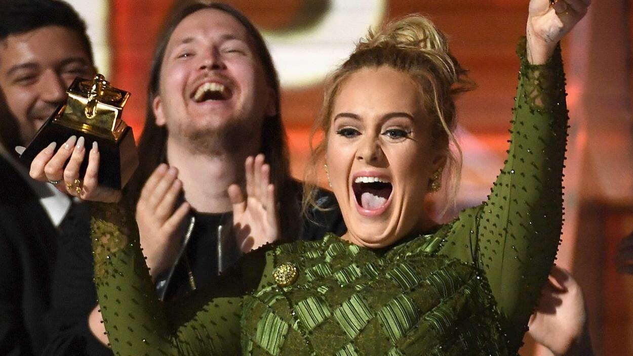 Adele aux 59es Grammy