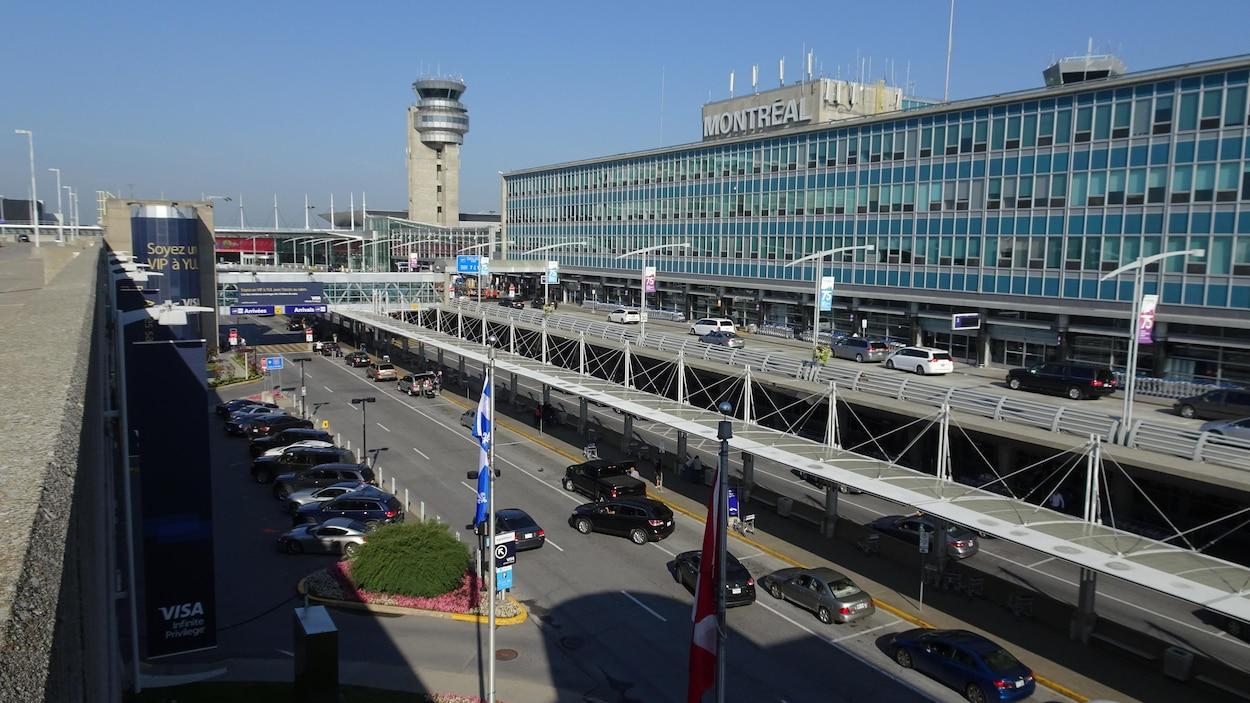 L'aéroport Montréal-Trudeau.