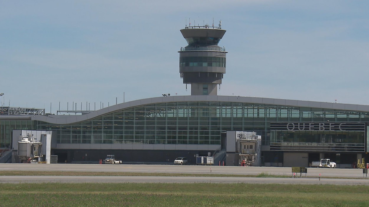 L'Aéroport international Jean-Lesage, à Québec